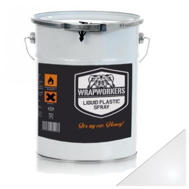 La peinture de vinyle liquide Blanc Brillant (4 litres)