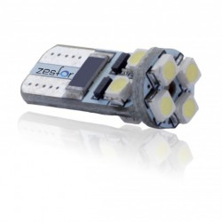 ZesfOr® Bombilla LED CANBUS w5w / t10 Cerámica - TIPO 13