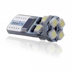 Bulbo claro do diodo EMISSOR de luz CANBUS w5w / t10 - TIPO 13