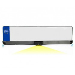 Portamatrículas con Sensores Aparcamiento y Cámara