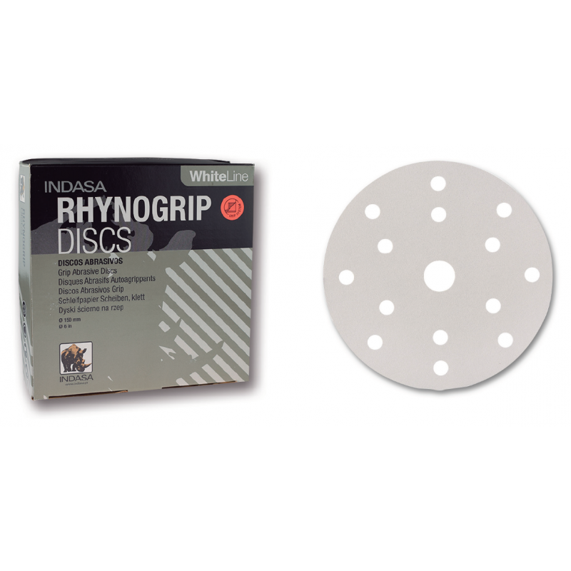 Abrasive disc Rhynogrip White Line 150 mm