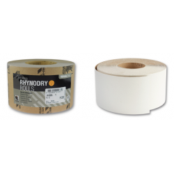 Roll Grit Rhynalox-Dry White Line 100 x 50 m