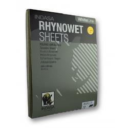 Folha de Lixa de água Rhynowet White Line 230x280 mm