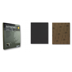 Foglio di carta abrasiva ad acqua Rhynowet Linea Bianca 230x280 mm