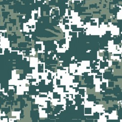 Foglio Hidroimpresión Camouflage a Pixel 50x100cm