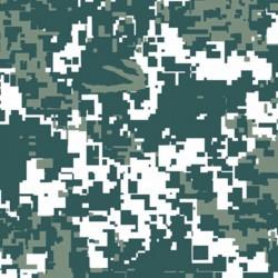 Lámina Hidroimpresión Camuflaje Pixel 50x100cm