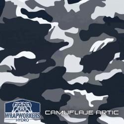 film hidroimpresión Camuflaje Artic