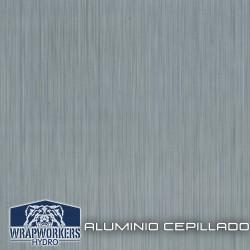 film hidroimpresión Aluminio Cepillado