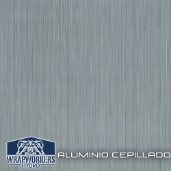 film hidroimpresión Brushed Aluminum
