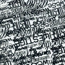 Lámina Hidroimpresión letras