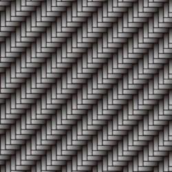 Foglio Hidroimpresión argento Carbonio