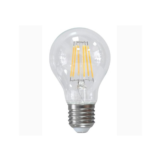 O KDE® Bulbo claro do diodo EMISSOR de luz E27, 6 Watts e 600 lumens | Modern Design
