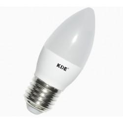 Bombilla LED E27, 7 Watios y 560 lúmenes | KDE Vela Design