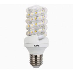 E27 LED bulb, 9-Watt, 720 lumens | KDE-Spiral design
