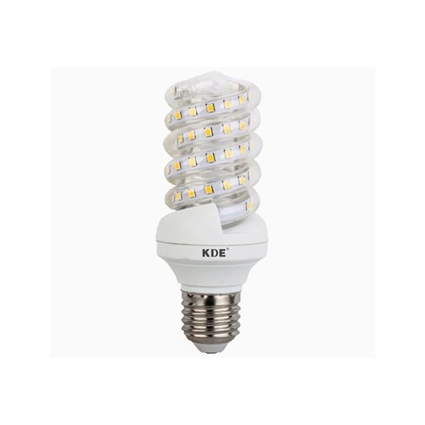 Ampoule à LED E27, 9 Watts, 720 lumens | KDE-conception en Spirale