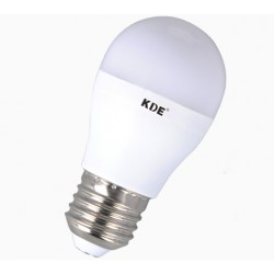 E27 LED bulb, 6-Watt, 470 lumens | KDE Adjustable