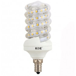 Ampoule LED E14, 9 Watt, 720 lumens | KDE-Conception en Spirale