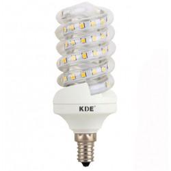 Lampadina LED E14, 9 W, 720 lumen | KDE-Disegno a Spirale