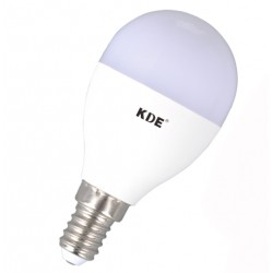 LED bulb E14, 6 Watt, 470 lumens | KDE Adjustable