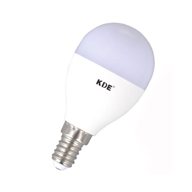 Bulbo claro do diodo EMISSOR de luz E14, 6 Watts e 470 lúmens | KDE Regulável