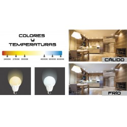 LED bulb gu10, 6 Watts and 470 lumens | KDE Adjustable