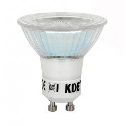 LED-lampe GU10, 6 Watt und 400 lumen | KDE-High SMD