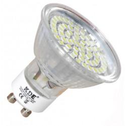 Bulbo claro do diodo EMISSOR de luz GU10, 3 Watts e 220 lumens | KDE economiq
