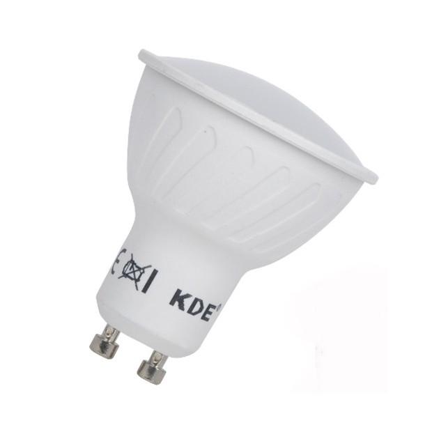 Bulbo claro do diodo EMISSOR de luz gu10 potente