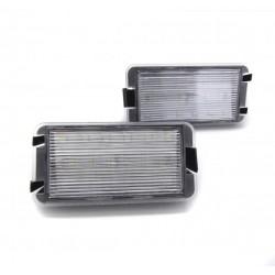 Plafones LED de matrícula Seat Leon MKI (1999-2005)