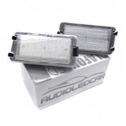 Plafones LED de matrícula Seat Toledo MKIII (2004-2009)