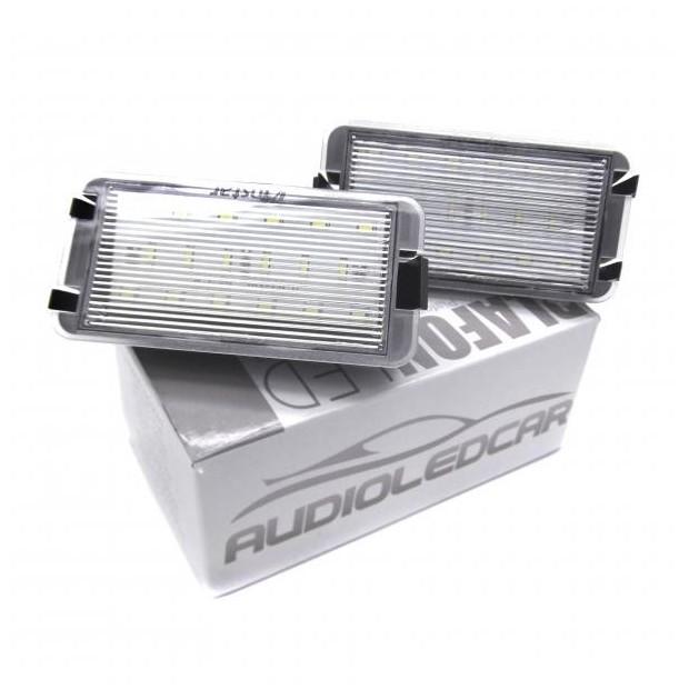 Plafones LED de matrícula Seat Arosa