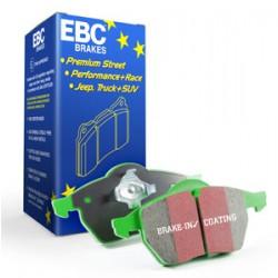 EBC materia verde - Pastiglie Freno Anteriore