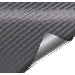 foil sticker Fiber Carbon anthracite