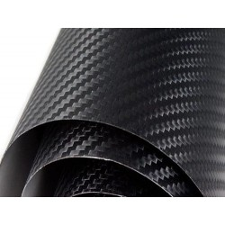Normal 500x152cm black carbon fiber vinyl
