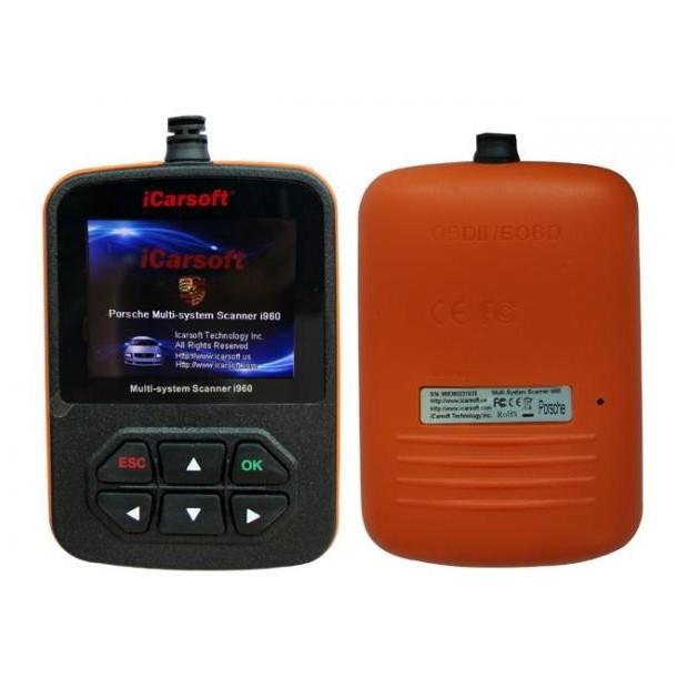 Máquina de diagnóstico Porsche ICARSOFT i960