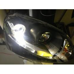 Kit diodo EMISSOR de luz HB4 9006 para carro e moto (branco puro)
