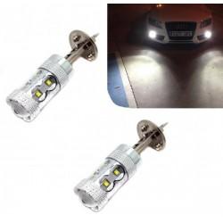 Lumières de LED H1 60 watts Canbus Kit