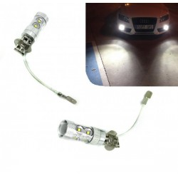 Kit d'ampoules LED H3 60 Watt Canbus