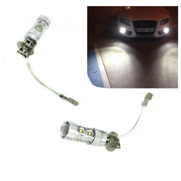 Kit de bombillas LED H3 60 Watios Canbus