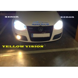 Ampoules Jaune-vision H4