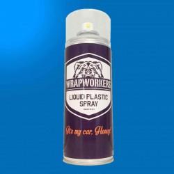 Pintura em Spray de vinil com líquido AZUL SMURF BRILHO