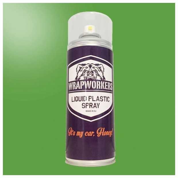 Spray paint vinyl GREEN liquid GLOW