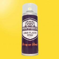 Pintura en Spray de vinilo líquido AMARILLO BRILLO