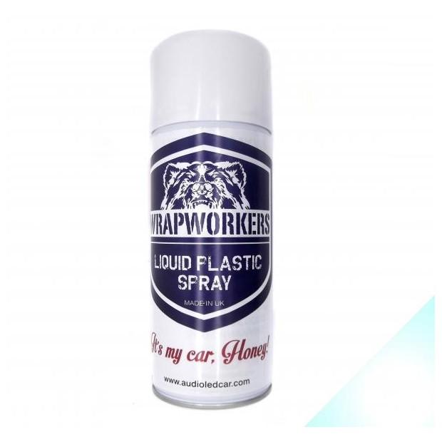 Spray paint vinyl WHITE liquid PEARL