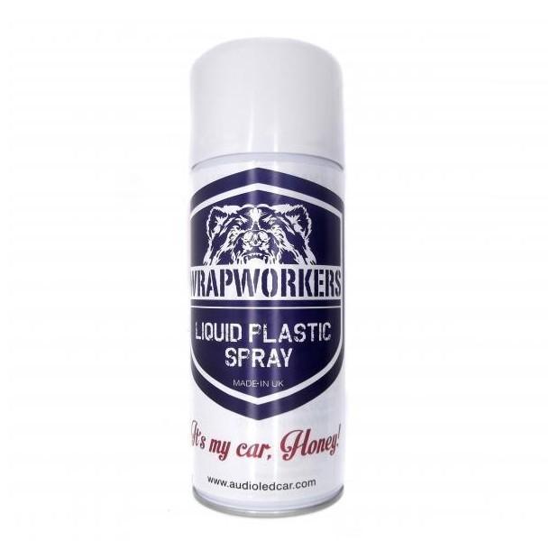Vernice Spray in vinile in un liquido TRASPARENTE LUCIDO