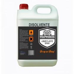 Solvente para vinil líquido (5 litros)