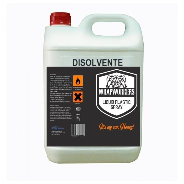 Solvant pour le vinyle liquide (5 litres)