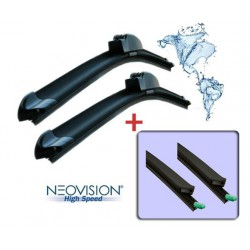 Kit wiper blades for Jaguar