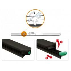 Kit wiper blades for Mazda