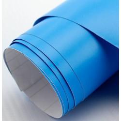 Vinyle bleu Mat 75 x 152 cm